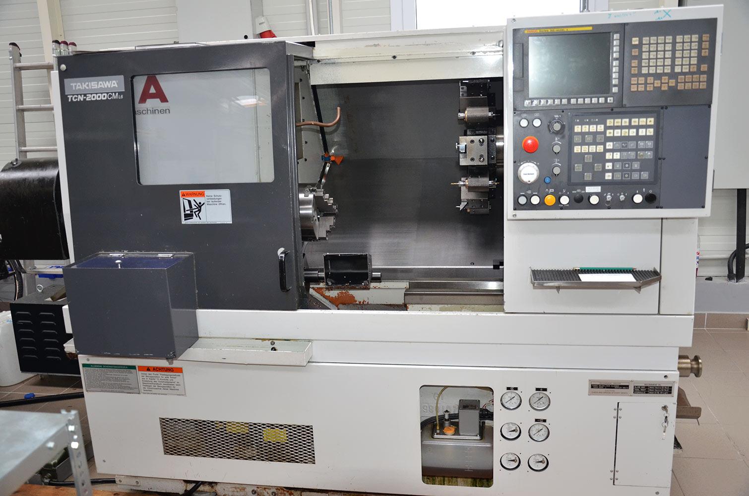 Takisawa TCN2000 CM L6 CNC